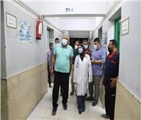 محافظ «الوادي الجديد» يقوم بزيارة مفاجئة لمستشفى الخارجة العام