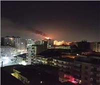 اندلاع حريق أعلى برج سكني في طنطا| فيديو