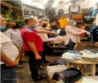 غلق 7 منشآت وتوقيع غرامات لعدم الإلتزام بالإجراءات الاحترازية بالإسكندرية