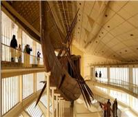 مراكب الشمس تشرق في المتحف المصري الكبير