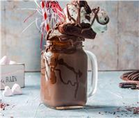 في الحر.. أسهل طريقة لتحضير ميلك شيك الشوكولاتة البراونيز