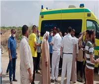 انتشال الجثة الخامسة من ضحايا تروسيكل الإسكندرية| صور