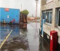 سقوط أمطار على شمال البحر الأحمر وجنوب الغردقة