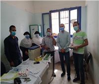 صحة سوهاج: بدء تطعيم مرضى الفشل الكلوي  للوقايه من فيروس كورونا المستجد
