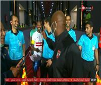 لقطة طريفة بين «شيكابالا» و«موسيماني» قبل مباراة القمة  صور