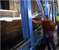 الأعلى للآثار: أعمال تغليف مركب خوفو يتم بمعايير علمية عالمية