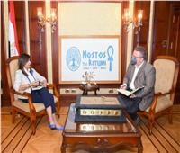 وزيرة الهجرة: تنظيم رحلة لشباب اليونان وقبرص إلى مصر يوليو المقبل