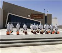 الانتهاء من أعمال التعقيم الدورية لمتحف شرم الشيخ