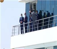 فيديو| الرئيس السيسي يشهد افتتاح عددا من مشروعات تطوير قناة السويس
