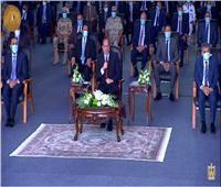 السيسي يدعو القطاع الخاص للمشاركة في إنشاء الأسطول المصري للصيد