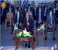 الرئيس السيسي يطمئن المصريين بشأن ملف «سد النهضة»