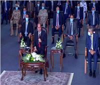 فيديو| الرئيس السيسى: موارد قناة السويس كافية لتنفيذ مشروعات التطوير فيها