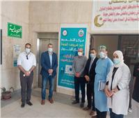 افتتاح وحدة للتطعيم بلقاح كورونا داخل مركز طب البترول بالسويس