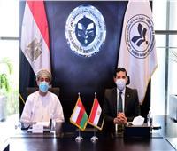 بحث فرص التعاون بين الهيئة العامة للاستثمار وسفارة عُمان بالقاهرة