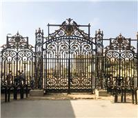 الانتهاء من إعادة تركيب البوابة الخارجية الأصلية للمتحف المصري بالتحرير