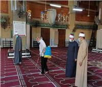 «الأوقاف» تطلق حملة لتعقيم المساجد استعداداً لصلاة  عيد الفطر