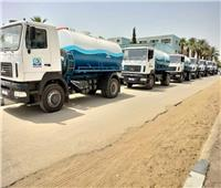 مياه القناة تدعم أسطولها بـ12 سيارة كسح بتكلفة 15 مليون جنيه