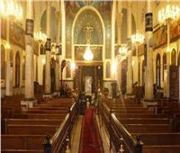 تعليق الصلاة بكنيسة «مارجرجس بالجيزة»