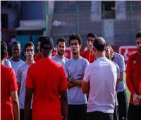 الجهاز الفني  للأهلى يطالب اللاعبين بالتركيز قبل مواجهة «صن داونز»