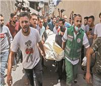 الاحتلال يواصل جرائمه فى غزة لليوم الثاني