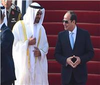 الرئيس السيسي يتبادل تهنئة عيد الفطر مع ولي عهد أبو الظبي