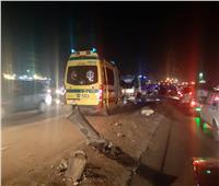 حادث بين «ملاكي وميكروباص» على طريق القاهرة الإسكندرية الزراعي