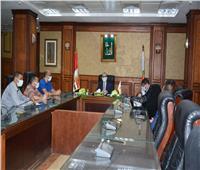 نائب محافظ سوهاج يتابع شكاوى تطوير الريف المصري «حياة كريمة»