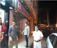 تحرير 12 محضراً لقرار غلق المحلات.. وإزالة400مخالفة إشغال بـ«كفر الدوار»