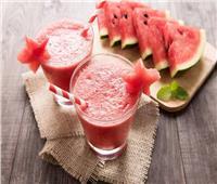 عصائر رمضان| أسهل طريقة لإعداد عصير البطيخ باللبن في المنزل