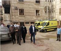مصرع مريضين في حريق داخل العناية المركزة بمستشفى صدر كفر الشيخ