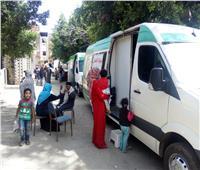 قافلة طبية علاجية بقرية 39 الدرافيل بالدقهلية والكشف على 1373 مريض