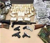 القبض على 10 متهمين بحوزتهم مخدرات وأسلحة بالفيوم