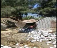 إزالة 7 حالات تعدِبالبناء على الأراضي الزراعية في البحيرة