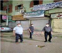 تحرير 99 مخالفة وإغلاق 32 منشأة ضمن الإجراءات الاحترازية بالمنيا |صور