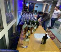 التهرب الجمركي: تحرير 5 محاضر ضبط زجاجات مشروبات كحولية بالقاهرة