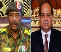 السيسي يُهنئ رئيس المجلس الانتقالي السوداني بحلول عيد الفطر المبارك
