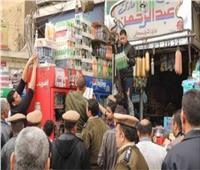 ضبط 20 قضية في حملة تموينية موسعة على أسواق أسوان