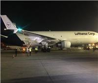 بث مباشر| لحظة وصول أكبر شحنة من لقاح كورونا لمطار القاهرة الدولى