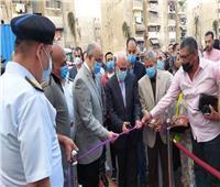محافظ بورسعيد يفتتح أعمال تطوير منطقة السيدة نفيسة