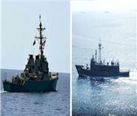 القوات البحرية المصرية والأمريكية تنفذان تدريبًا عابرًا بنطاق الأسطول الجنوبي بالبحر الأحمر