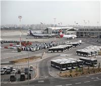 بالفيديو | رعب في مطار بن جوريون بعد إطلاق صافرات الإنذار