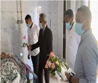 مستشفى حميات نجع حمادي يحتفل مع مصابي كورونا بعيد الفطر