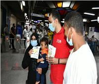 توزيع 6 آلاف هدية على الأطفال في «محطات المترو» بمناسبة العيد| صور