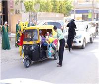 شباب كفر الدوار يوزعون 3500 لعبة على الأطفال في عيد الفطر