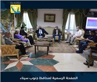 وفد الكاثوليكية يقدم وثيقة «الأخوة الإنسانية» لمحافظ جنوب سيناء