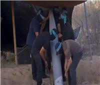 حماس تنشر فيديو إطلاق وابل من الصواريخ باتجاه مدن إسرائيلية