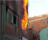 مصرع ربة منزل في حريق منزل بشارع التحرير بنجع حمادى