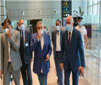 نائب وزير الطيران المدني يتفقد مطار الغردقة الدولي   صور