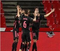 الشوط الأول| ريال مدريد يتقدم بهدفين على غرناطة في «الليجا الإسبانية»