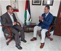 حوار| السفير الفلسطيني بالقاهرة: إسرائيل ترتكب جرائم حرب بالأسلحة المحرمة